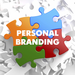 Personal Branding on Multicolor Puzzle.